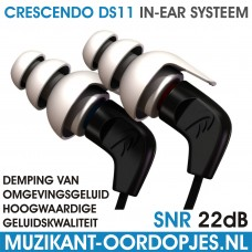 Crescendo DS11 In-Ear Monitor Systeem
